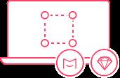 在Mockplus和Sketch中上传和应用设计元素