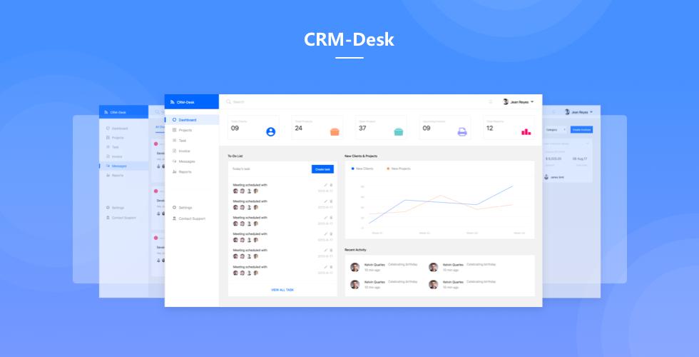管理后台 - CRM-Desk