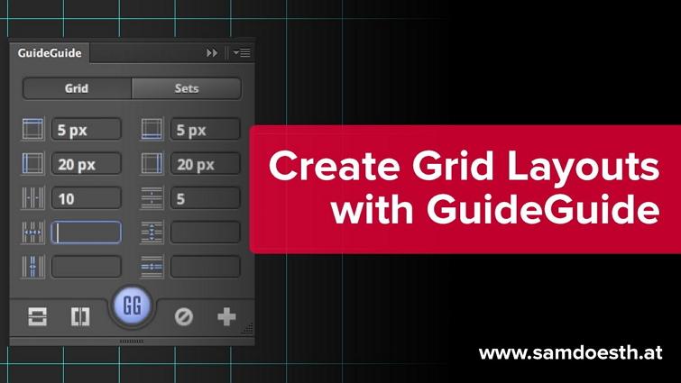 : Guide Guide会自动添加网格线,辅助设计