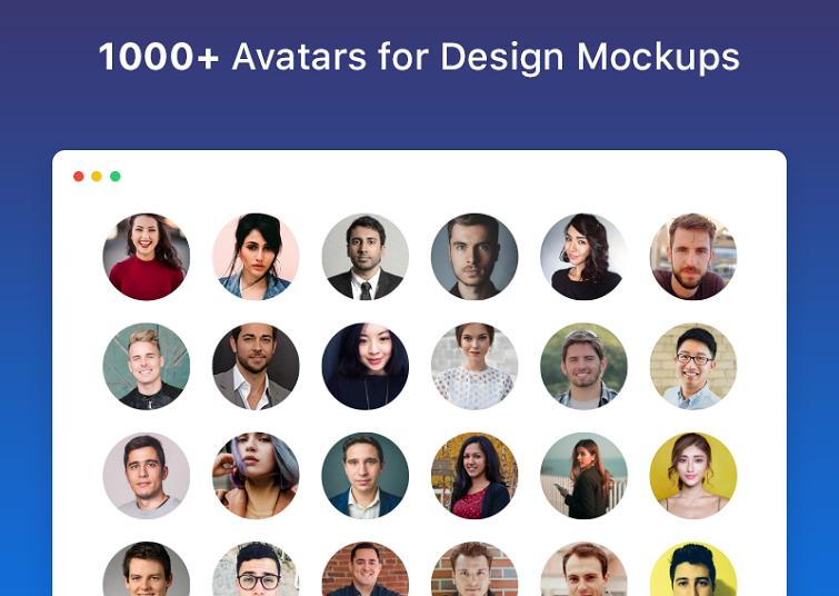 使用UI Face填充原型头像或模拟用户使用场景