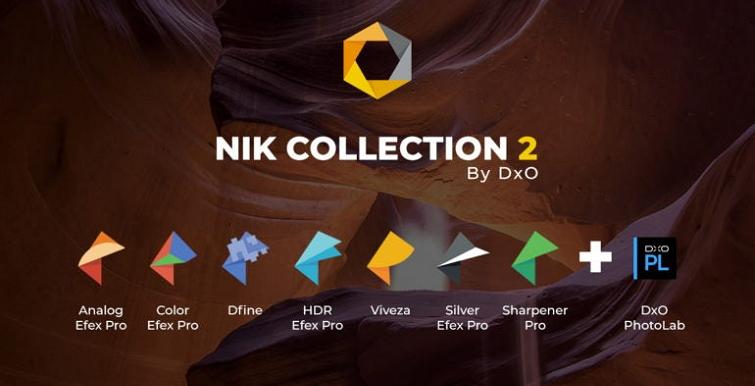Nik Collection提供了7款强大的图像处理插件