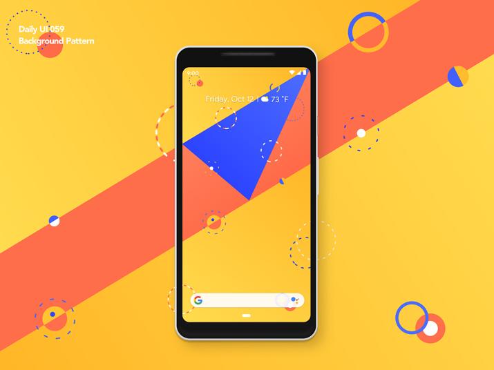 Modern App Background Pattern