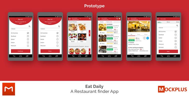 由摹客打造的App界面设计案例