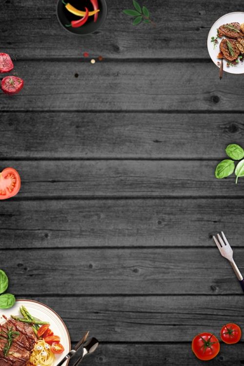 Free Western Food App Background