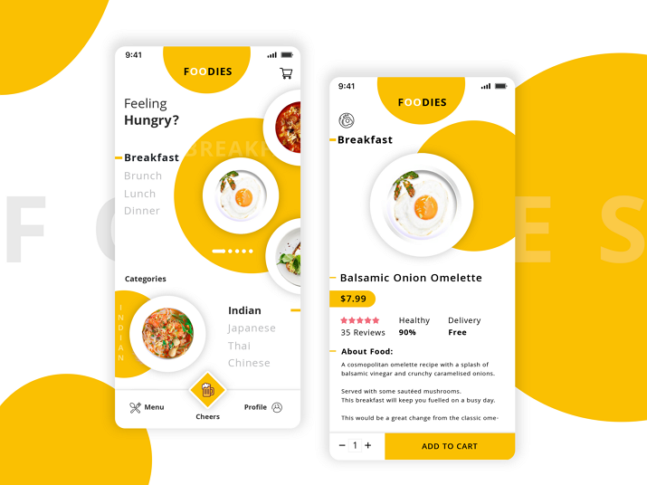 Foodies UI Background