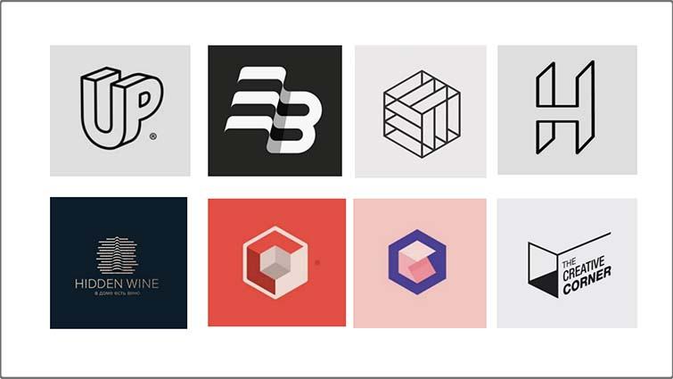 立体空间logo