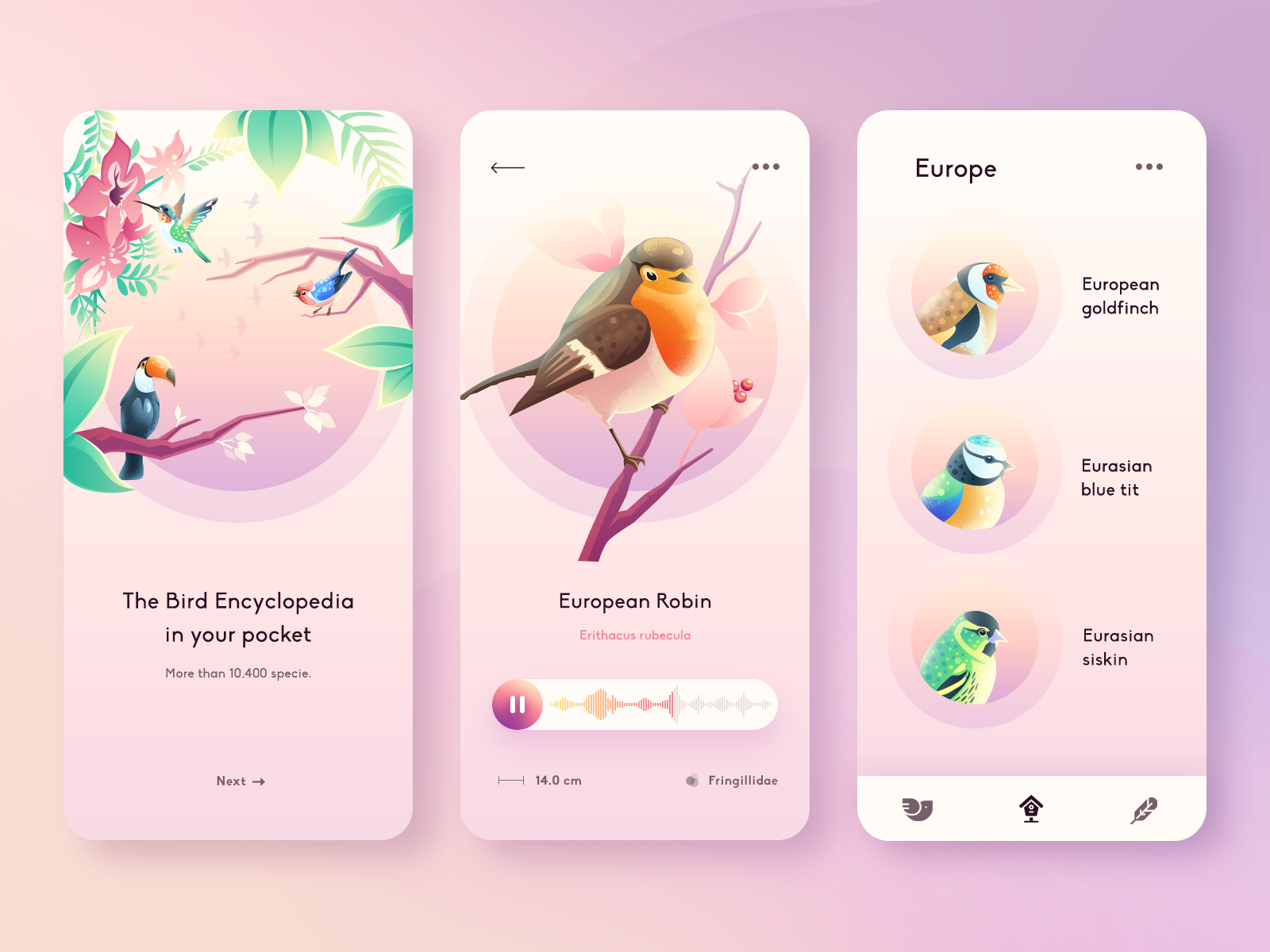 Birds Guide APP