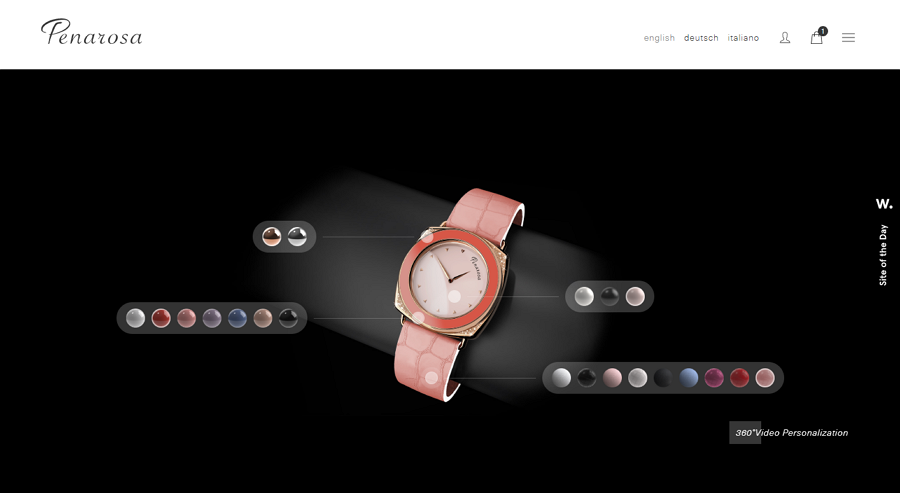 Edit Colors to Customize Watches