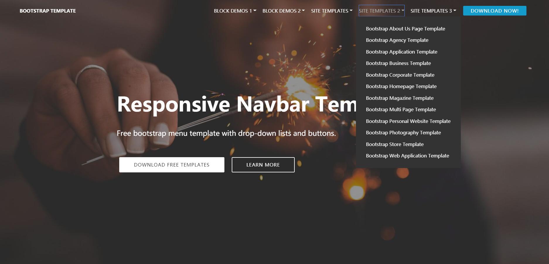 Responsive Navbar