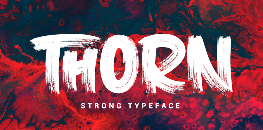 Free Thorn Bold Font