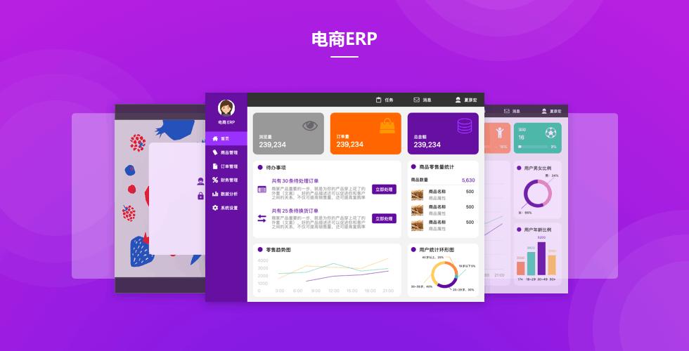 电商管理 - ERP系统