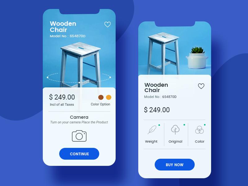 在线家具商场App界面