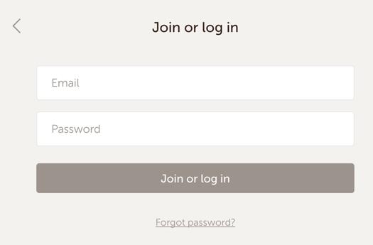 注册和登录使用相同的表单设计