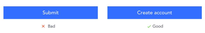 添加准确贴切的按钮微文案