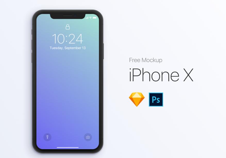 [FREE] iPhone X Mockup
