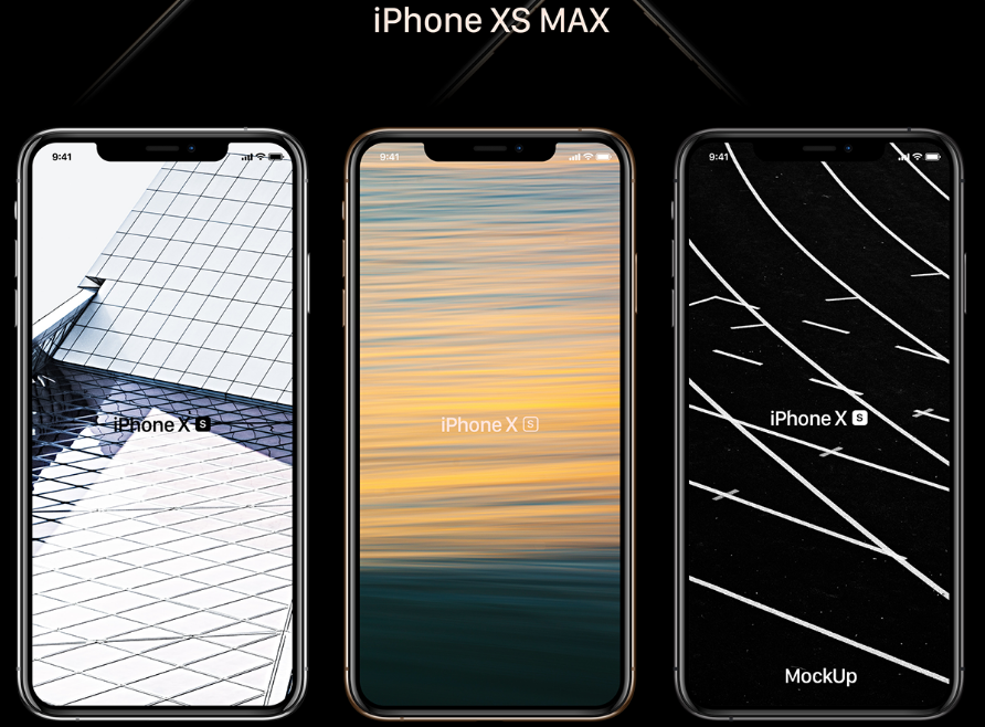 Free iPhone XS, XR, XS Max Mockups