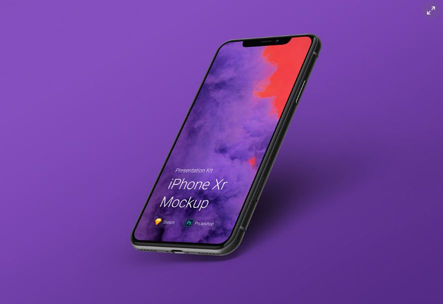 Free and Best iPhone Mockups iPhone X, XR, XS and XS Max [PSD , Sketch]