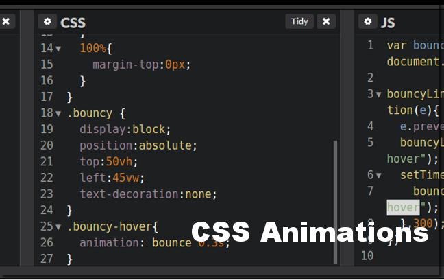 CSS动画代码