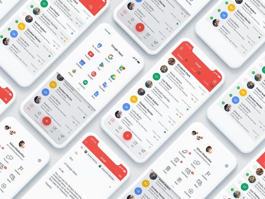 Gmail程序模板