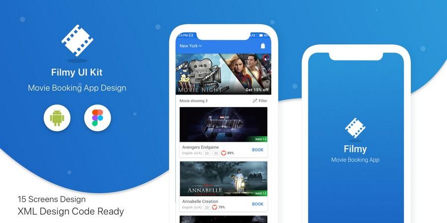Flimy - 电影票预定App