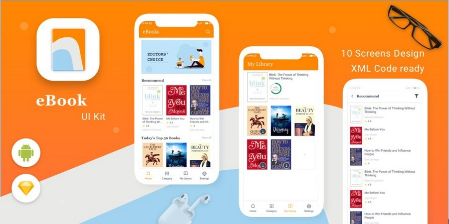 E-Book - 在线阅读App