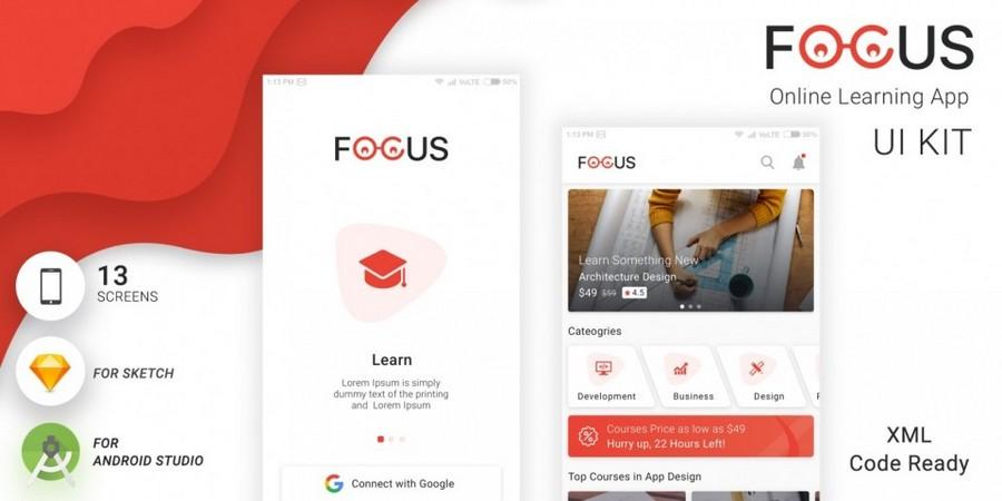 FOCUS - 在线学习App