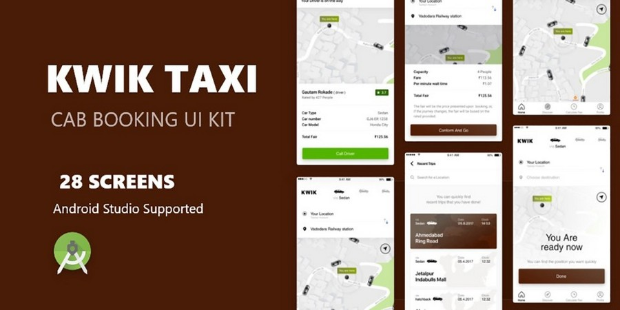 Kwik Taxi - 出租车预订App