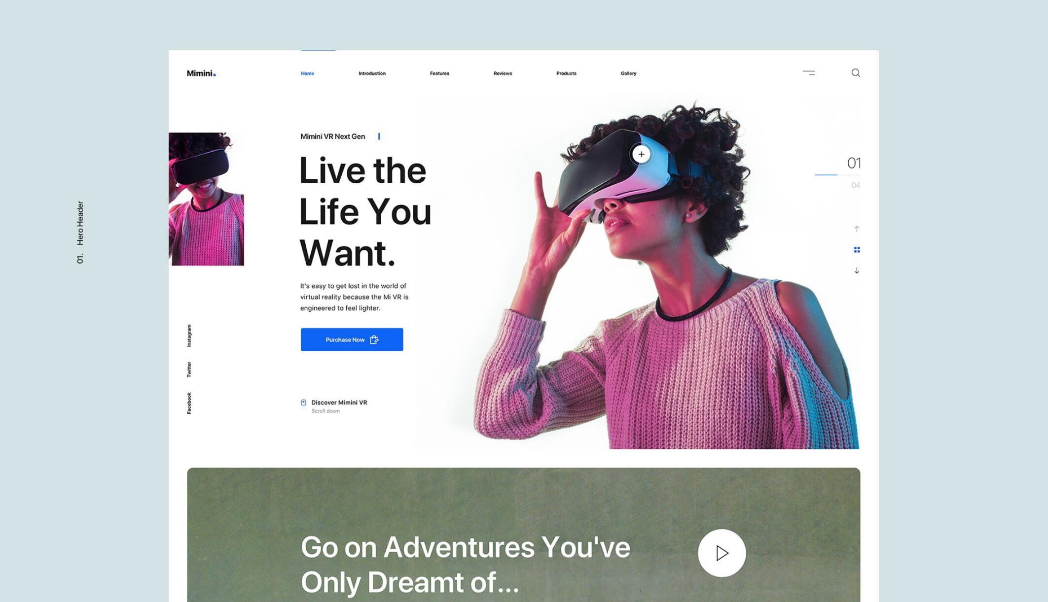 Mimini- Sketch响应式网页设计
