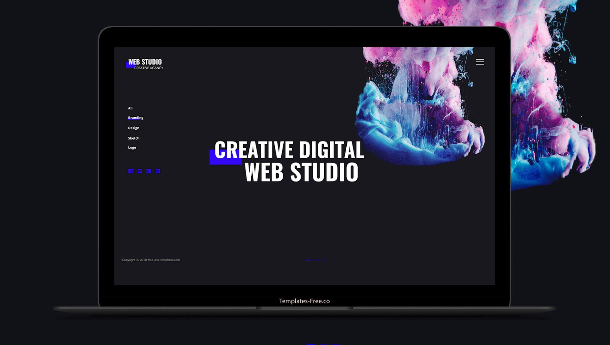 WebStudio – 响应式网页设计模板