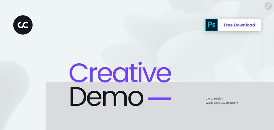 Cesis Creative Agency -免费网站PSD模板