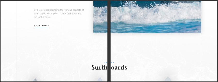 Surfing PSD模板