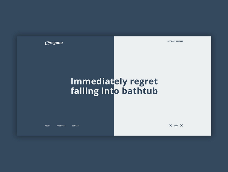 Oregano免费网站模板