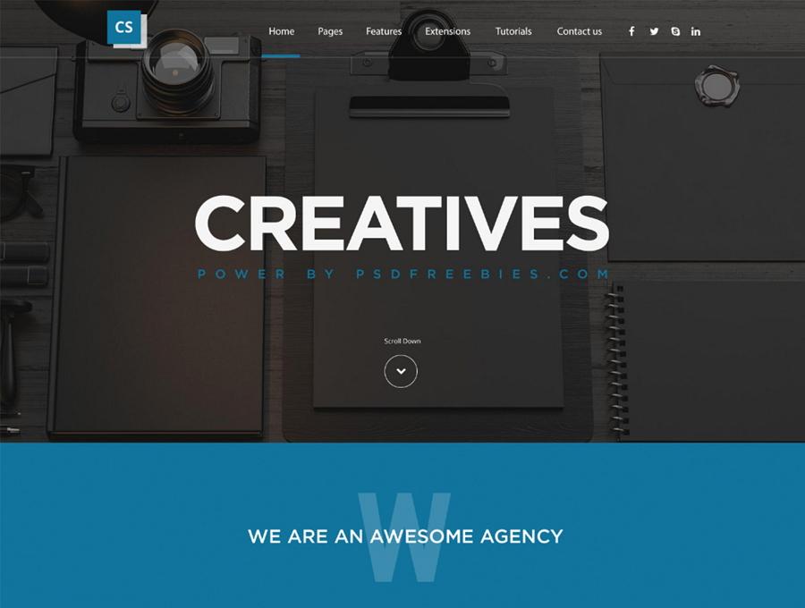Creatives Web模板