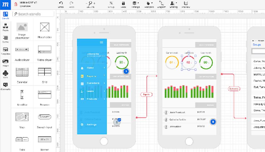 Mockup在线Mockup线框协作设计工具