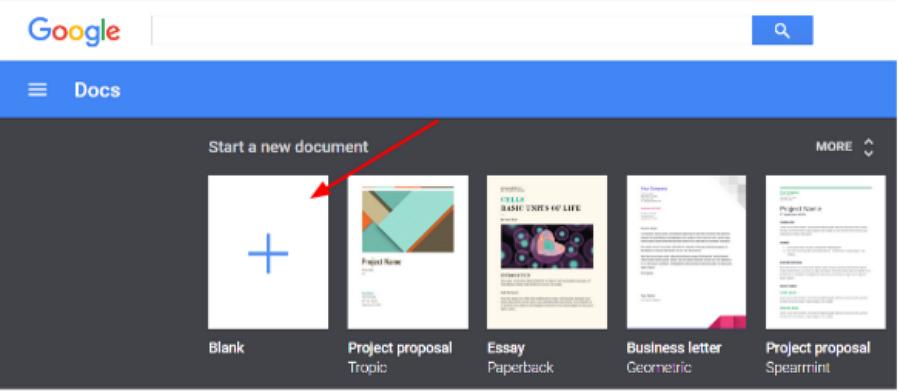 Google Docs免费在线文档管理工具