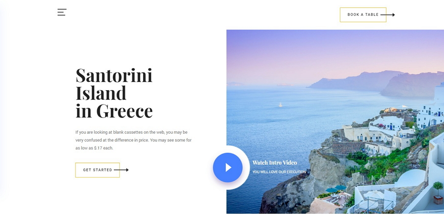 Beyond - 免费旅游网站模板