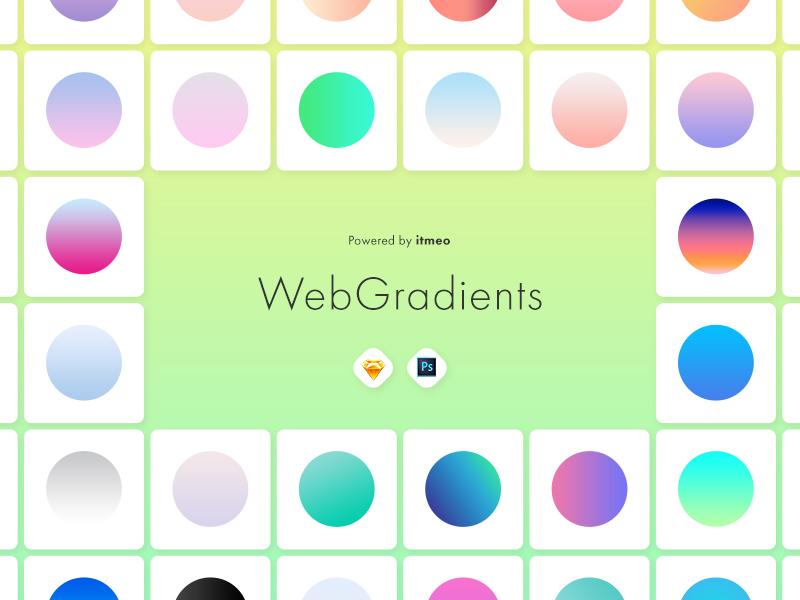 网页渐变色UI工具包