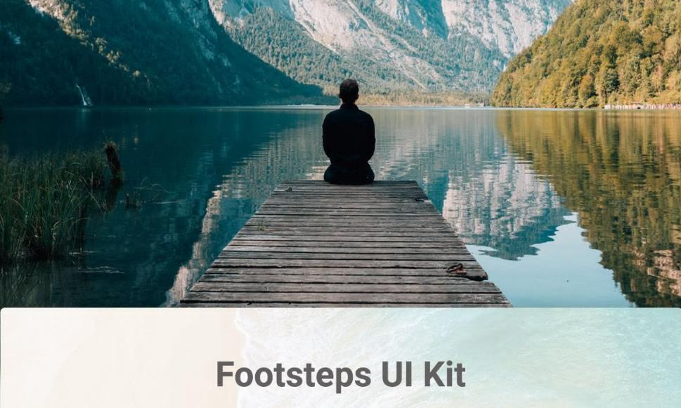 Footsteps Free Travel UI Kit