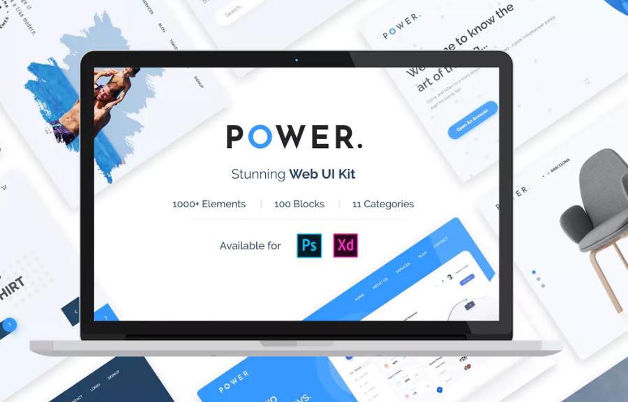 Power Web UI Kit