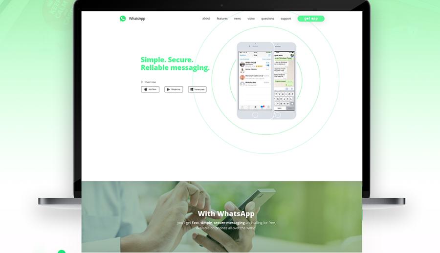 Bootstrap Web UI Kit — Landing page