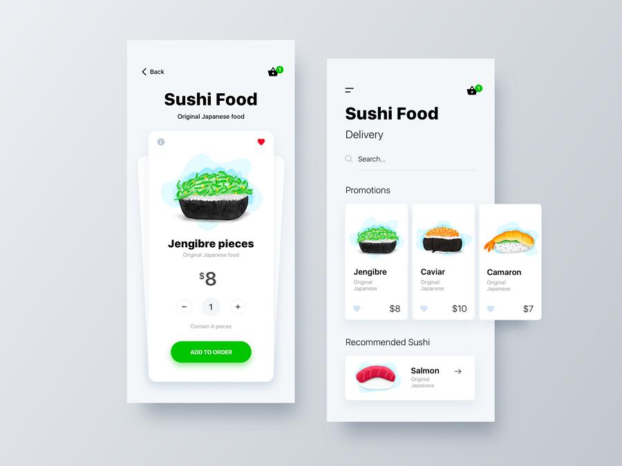 Sushi Food App