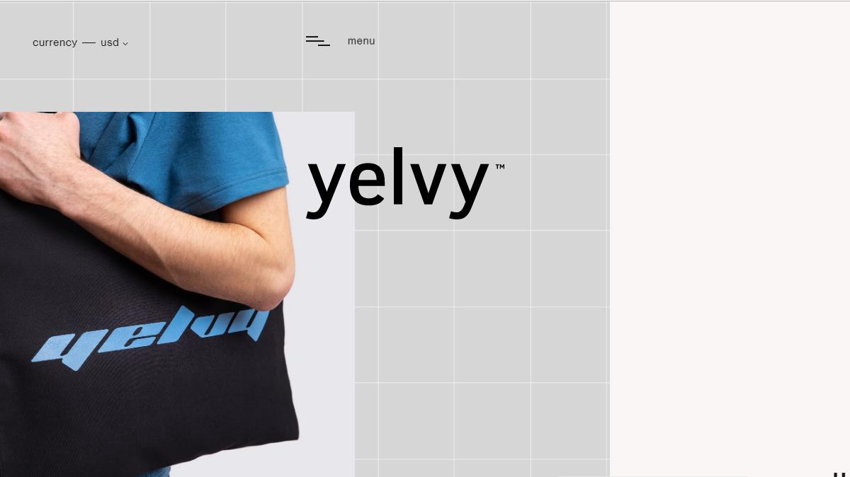 Yelvy网站界面