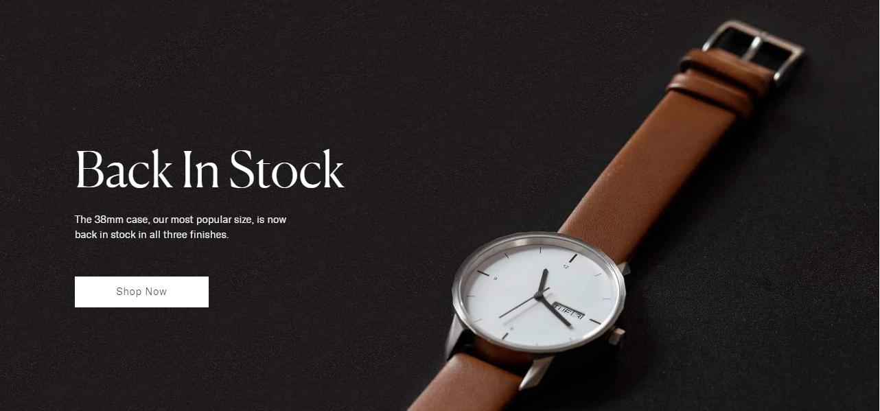 Thinker是一个销售手表的网站