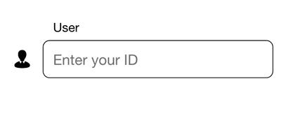 输入用户ID的