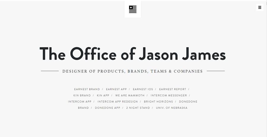 利用不同字体排版打造简约网页设计