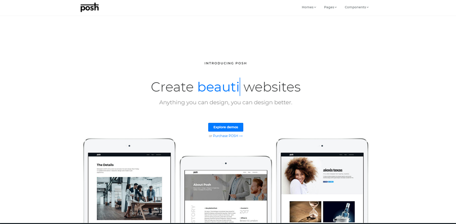 Posh-html5-bootstrap-4-template.png