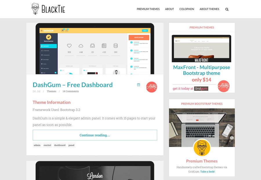 Blacktie网站界面.jpg