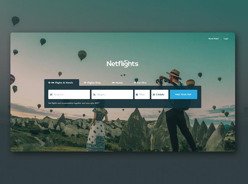 Web design inspiration - Netflights.jpg