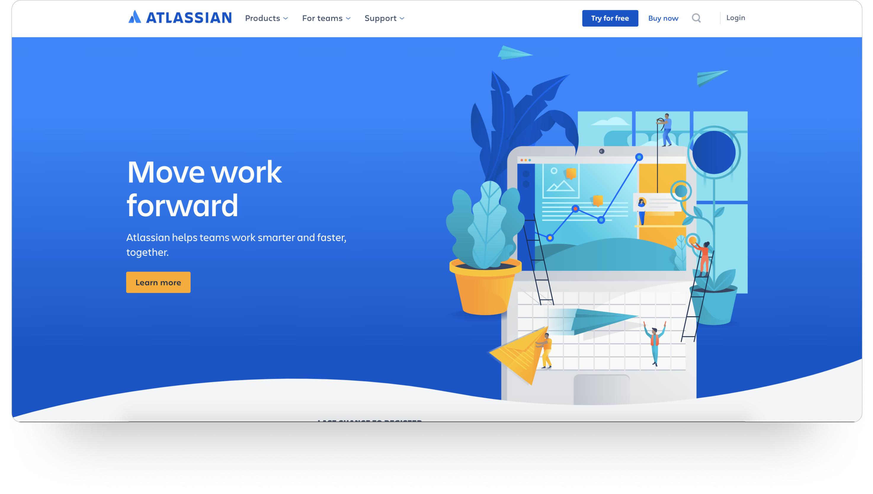 Atlassian CTA按钮