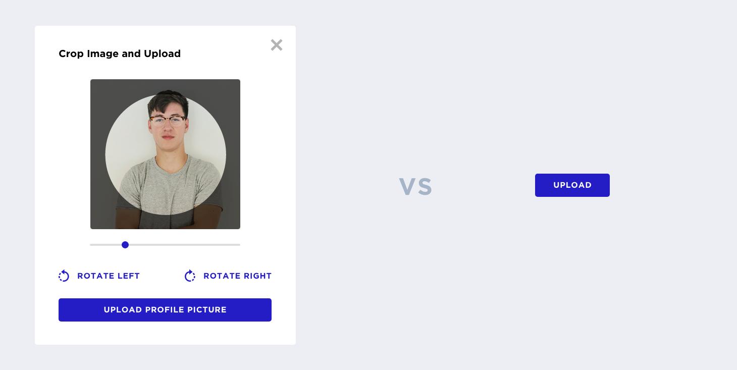 用户个人页面图片上传设计